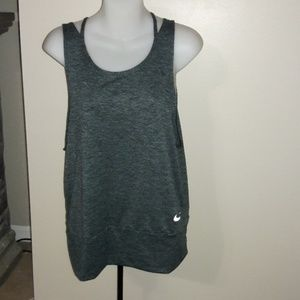 Womens sz L NIKE dri-fit tank BRAND NEW